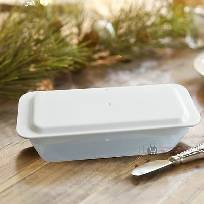 New 2 Pack Butter Dish With Plastic Lid Tray Holder Serving Storage Kitchen
