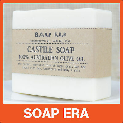 HANDMADE TRADITIONAL CASTILE (Pure 100% Olive Oil) Wash Bar