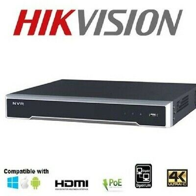 HIKVISION 4K 8ch NVR DS-7608NI-I2/8P 8 POE PORTS V 3.4.6 3 YEAR WARRANTY