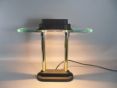 Vintage 80s Tischlampe table lamp Memphis Style Sompex Extra Light