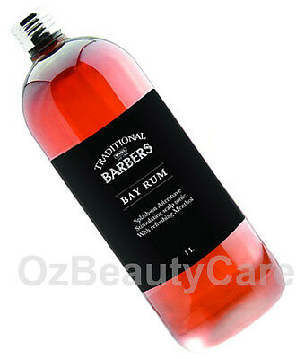 Wahl Professional Traditional Barbers Bay Rum 1L/1 Litre