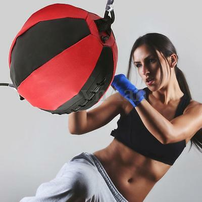 PU Leather Boxing Fitness Speed Dodge Ball Double End Floor to Ceiling Punch Bag