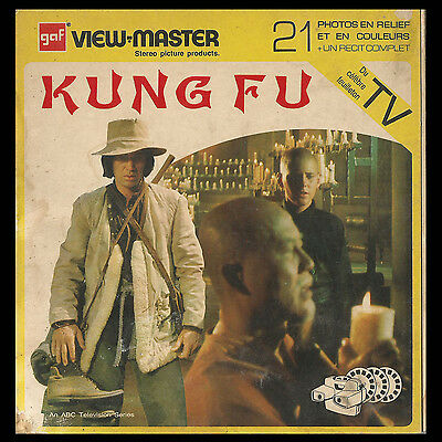 View-Master Kung Fu 3 disques