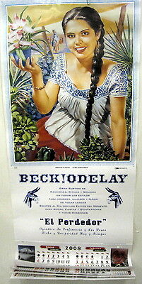 Beck Odelay promo poster calendar NEW 2008 Bong Load Maurice Devaux Painting