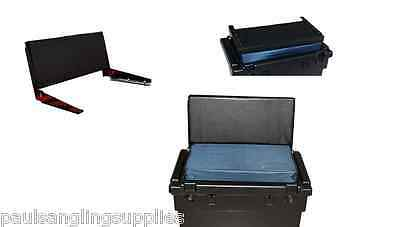 Fishing Team  Seat Tackle Box  Back Rest with  fixings / Brackets