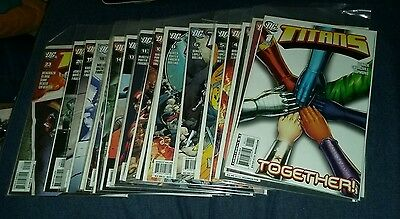 titans 2008 series 21 issue comics lot run new teen set collection movie book