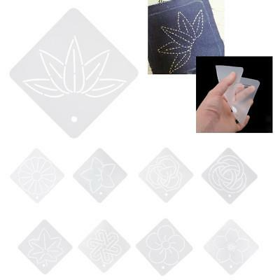 Semi-Transparent Embroidery Quilt Template Stencils Patchwork Craft Tool 12*12cm
