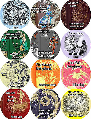 Lot of 12 / ANDREW LANG / Mp3 (READ)  CD Audiobooks / FAIRY BOOKS