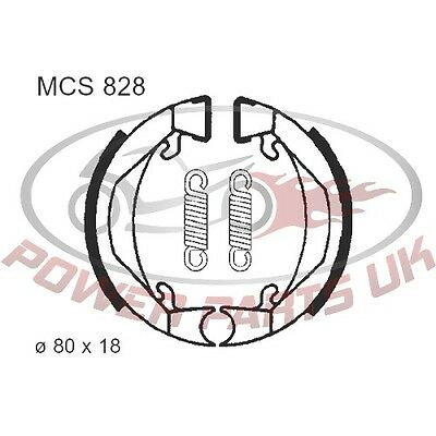 For KTM SX 50 Junior 2000-2001 Quality Brake Shoes Inc Springs Trw Altn 7328271
