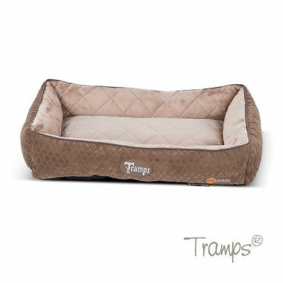 Scruffs Thermal Lounger Cat Bed Chocolate 58 x 40cm