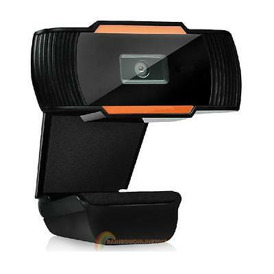 USB 12.0MP HD Camera Web Cam 360° MIC Clip-on for Skype Computer PC Laptop