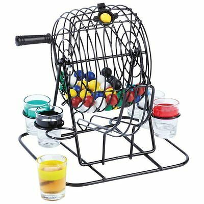 Drinking Bingo Shot Glass Game Party Adult Game Party Picnic