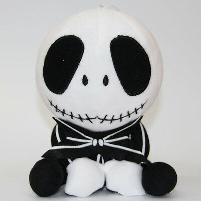 "The Nightmare Before Christmas Jack Skellington Plush Stuffed 8""doll toy Xmas"