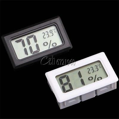 Hot LCD Thermometer Hygrometer Humidity Temperature Meter Indoor +K Type Probe