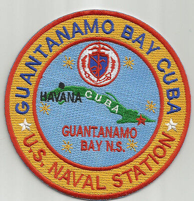 US Navy Base Patch Glenview NAS IL Heat Seal Backing