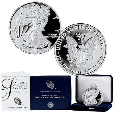 2016-W Proof American Silver Eagle GEM Proof (Original Mint Packaging) SKU43152