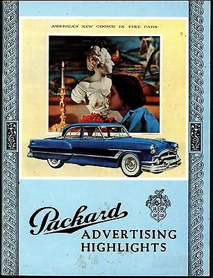 Book: Packard Advertising Highlights 1900 - 1956 (Gwil Griffiths 1973) (G0743)