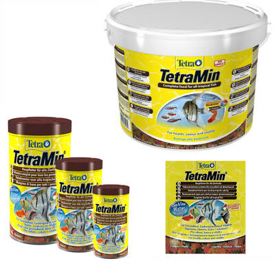 TETRA MIN * Tetramin 12g 20g 200g 10L SEALED BUCKET* ORIGINAL PACKAGES ANY SIZES