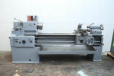 "Tos Trencin SN50-B metal lathe 20""x64""cc 30"" gap bed, Aloris post, 3 jaw chuck"