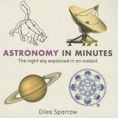 Astronomy in Minutes by Giles Sparrow (English) Paperback Book Free Shipping!