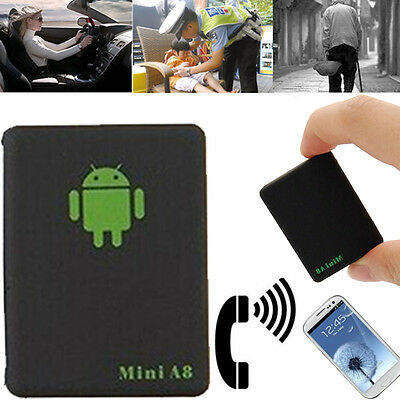 Realtime GSM/GPRS/GPS Global Locator Tracker Mini A8 Car Kids  Tracking Device