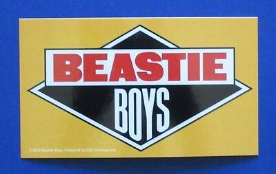 BEASTIE BOYS licensed to ill logo STICKER **Free Shipping** paul's boutique