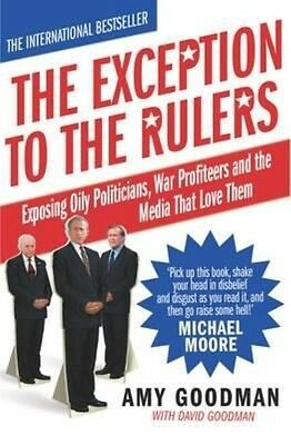 The Exception to the Rulers by David Goodman Paperback Book