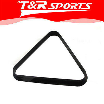 Pool Billiards Plastic 8 Ball Snooker 15 Ball Triangle Free Delivery 2 Inch