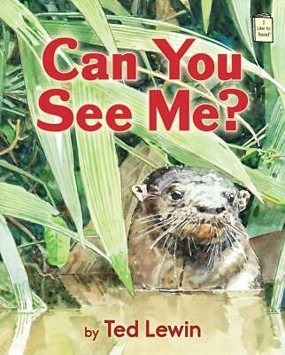 Can You See Me? by Ted Lewin (English) Library Binding Book Free Shipping!