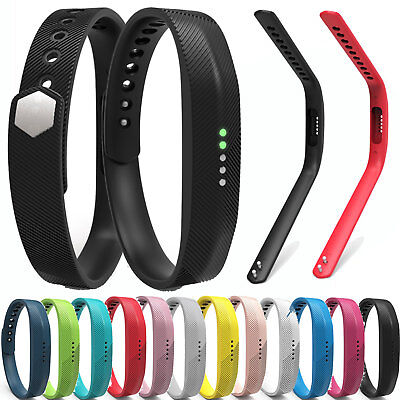 Sport Silicone Accessory Band Wrist Strap For Fitbit Flex 2 Tracker Small/Large