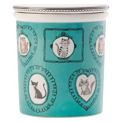 NEW Maxwell & Williams Purrfect Canister, Teal