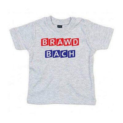 Baby Welsh Wales Brawd Bach - LITTLE BROTHE - T-SHIRT - New Bbay- St. Davids Day