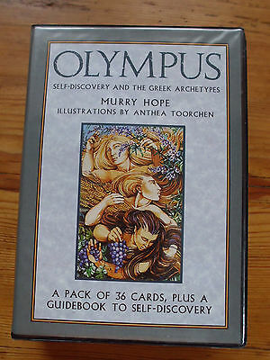 Olympus oracle, cards + english guidebook box set, unused