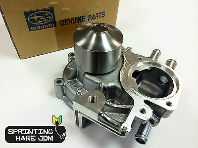 GENUINE Subaru Impreza 1992-2014 3 Port Water Pump - Cast Impeller (STI WRX P1)