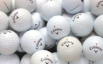 40 Callaway Chrome Soft Golf Balls Pearl/A Grade.