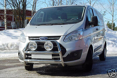 Shield Buffalo Ford Transit Custom 13- Non Counterpart Stainless Steel 60Mm