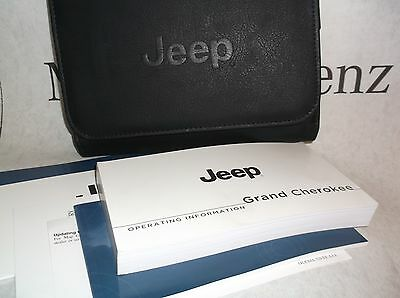 Jeep Grand Cherokee 2014 WK2 Owners Handbook Service Book Pack Operating Info