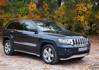 Jeep Grand Cherokee 11-13,bar Under Shield Power,stainless Steel Dia 60Mm,