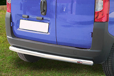 Shield Buffalo,protection Rear Stainless Steel For Citroën Nemo 2007,counterpart