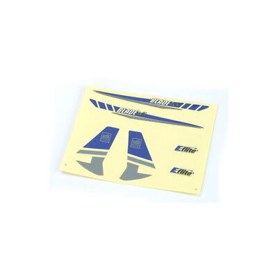 E-flite Decal Sheet Blue/Silver Graphics BMCX Decals EFLH2230 modellismo