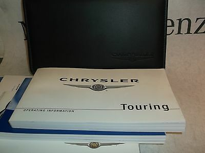 Chrysler 300C 05-11 Owners Handbook Service Book Pack Operating Info