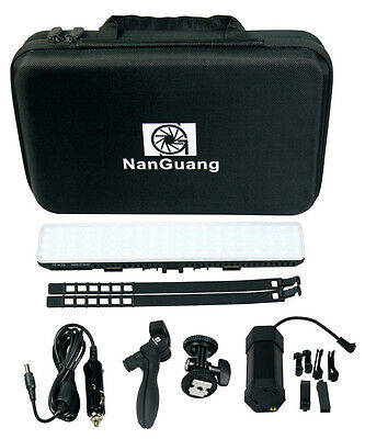 NANGUANG SET: SET Dimmbare Bi-Color LED Videoleuchte CN-T80C Kamera-Leuchte