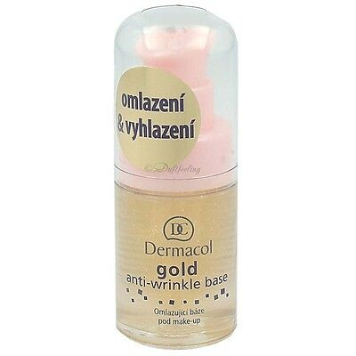 Dermacol Gold anti-wrinkle Base 15 ml