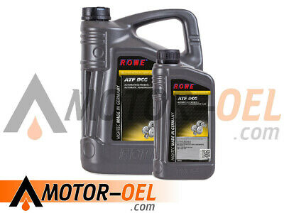 6 (5+1) Liter ROWE HIGHTEC ATF DCG Automatikgetriebeöl Made in Germany