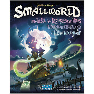 Small World Necromancer Island - Days of Wonder - New Board Game