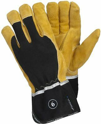 TEGERA 139 Heavy Duty Heat Resistant Leather Welding Work Goves Men Women Sizes