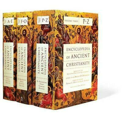 Encyclopedia of Ancient Christianity by Institutum Patristicum Augustinianum Ang