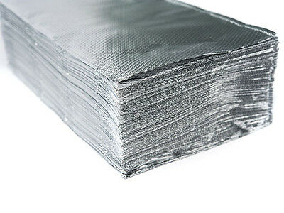 "12"" x 10.75"" Food Service Pop Up Aluminum Foil Sheets 500 Sheets per Box"