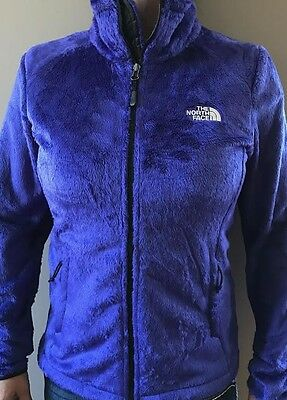 New Womens North Face Fleece Zip Jacket Osito 2 Size S & L Small and Large