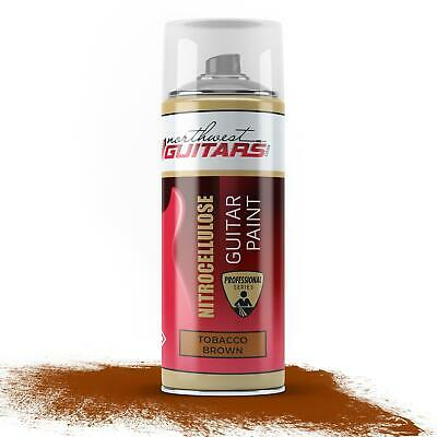 Tobacco Brown Nitrocellulose Guitar Paint / Lacquer Aerosol - 400ml